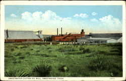 Sweetwater Cotton Oil Mill
