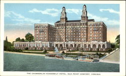 The Chamberlin - Vanderbilt Hotel Postcard