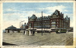 Chamberlin Hotel And Wharf Postcard
