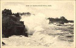 Surf At Marblehead Neck