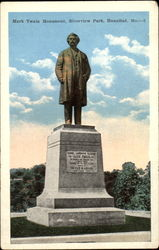 Mark Twain Monument, Riverview park