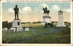 Statues Of General Buford