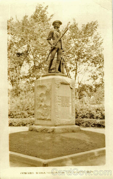 The Minute Man Statue Concord Massachusetts