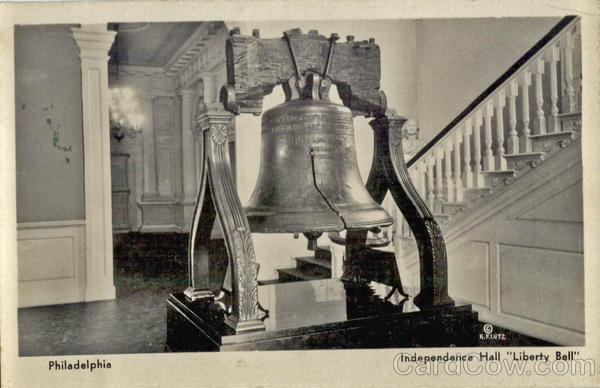 Independence Hall Liberty Bell Philladelphia Pennsylvania
