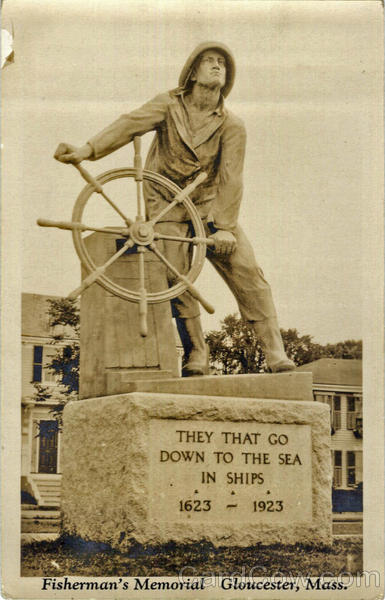 Fisherman's Memorial Gloucester Massachusetts