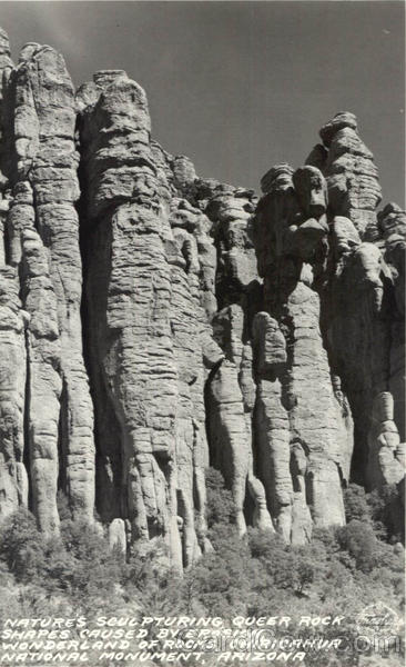 Wonderland of Rocks Chiricahua National Monument Arizona