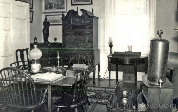 The Office, Colonel Black Mansion Ellsworth Maine