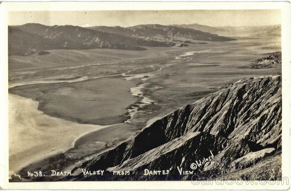 Death Valley from Dantes View Willard Landscapes