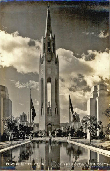 Tower of the Sun - Golden Gate International Exposition San Francisco California