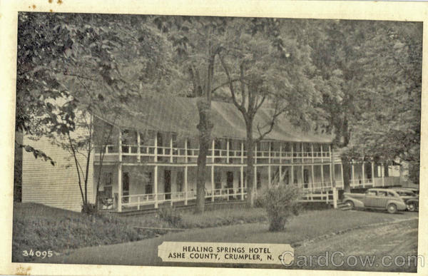 Healing Springs Hotel, Ashe County Crumpler North Carolina
