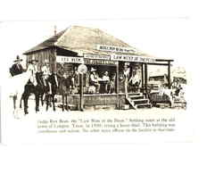 Judge Roy Bean the Law West of the Pecos Postcard