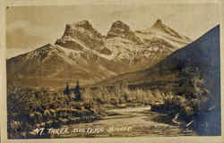 Three Sisters, Banff