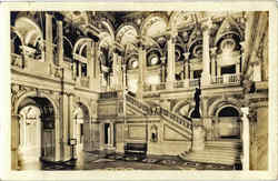 Main Stair Hall, Library of Congress
