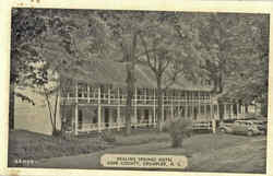 Healing Springs Hotel, Ashe County