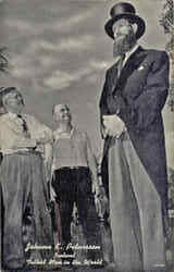 Johann K. Petursson, Tallest Man in the World