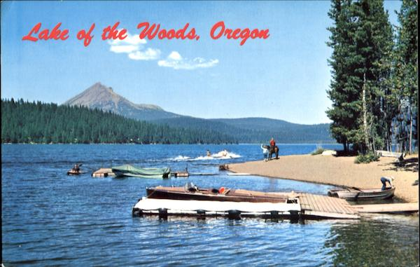 Lake Of The Woods Scenic Oregon