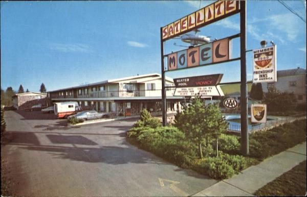 Satellite Motel Beaverton Oregon