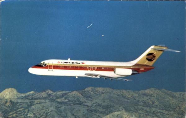 Continental Airlines DC-9 Aircraft