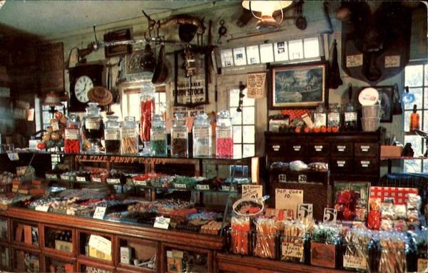 The Penny Candy Counter, Wayside Country Store South Sudbury Massachusetts