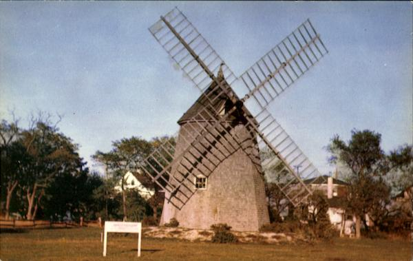 The Oldest Windmill Cape Cod Massachusetts