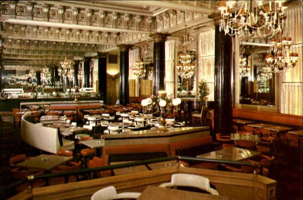 The Willard Room, 14th and Pennsylvania Avenue N.W Washington District of Columbia