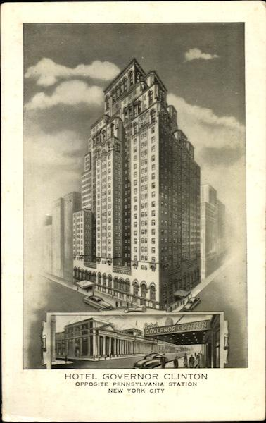Hotel Governor Clinton, 7th Ave 31st Street New York City