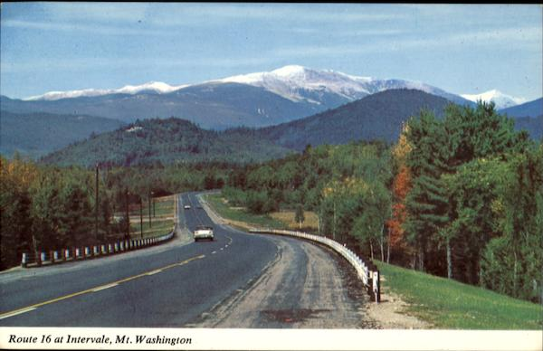 Route 16 At Intervale, Mount Washington New Hampshire
