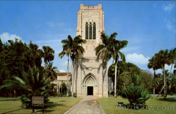 West Front And Tower, South County Road at Barton Ave Palm Beach Florida