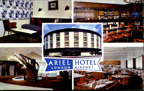Ariel Hotel London Airport England