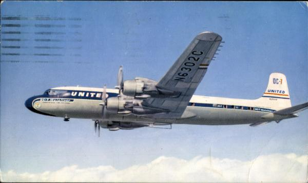 United DC-7 Aircraft