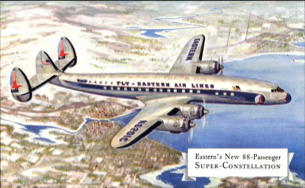 Eastern Super-Constellation Aircraft