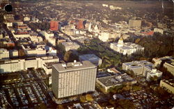 Bird's Eye View Of Sacramento