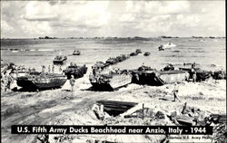 U. S. Fifth Army Ducks Beachhead Near Anzio