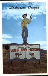 Welcome To The Tallest Town In Oregon
