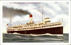 S. S. City Of Holland Goodrich Transit Co