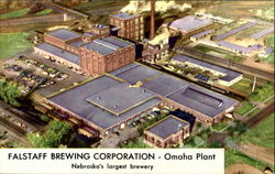 Falstaff Brewing Corporation Omaha Plant Postcard