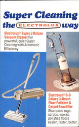 Super Cleaning The Electrolux Way