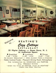 Keating's Cozy Cottage Restaurant, 35 Pilgrim Pathway