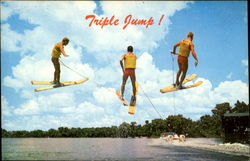 Triple Jump Waterskiing