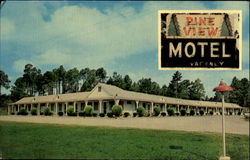 Pine View Motel, U.S. Highway 301 and State Highway 24 51/2 Miles North