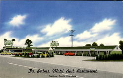The Palms Motel And Restaurant, U.S. 301, 15 & 15A 1 Mile South