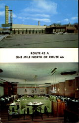 Richards Restaurant & Lounge, 3011 South Harlem Ave Route 42A, 1 Mile North of Route 66 Postcard