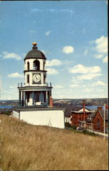 Old Town Clock On Citadel Hill Postcard