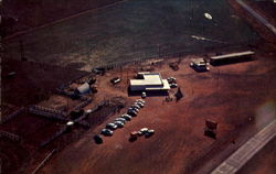 Aerial View Of Buffalo Ranch Headquarters, U. S. Highway 66-60-69-59