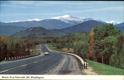 Route 16 At Intervale, Mount Washington