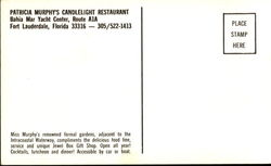 Patricia Murphy's Candlelight Restaurant