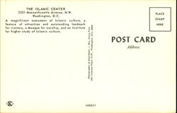 The Islamic Center, 2551 Massachusetts Avenue, N.W.