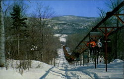 Chair Tram At Mt. Snow