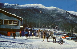 State Hut At Mt. Mansfield