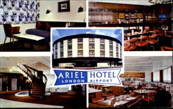 Ariel Hotel London Airport Postcard